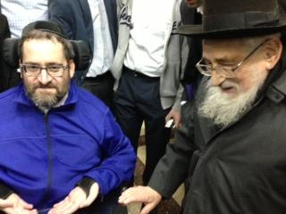 With my Rebbe, Rabbi Kanarak